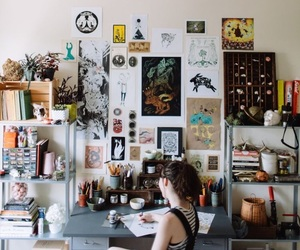 art, artist, and home image