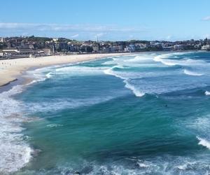 australia, beach, and city image