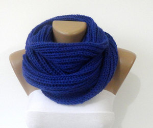 etsy, scarf, and knitted scarf image