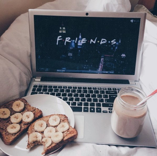 friends, food, and tumblr image