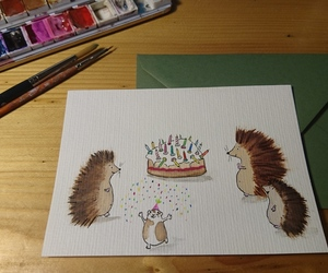 birthday, igel, and candles image