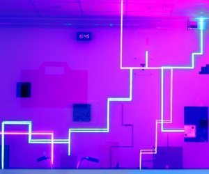 light and purple image