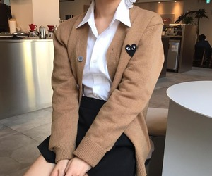 beige, fashion, and heart image