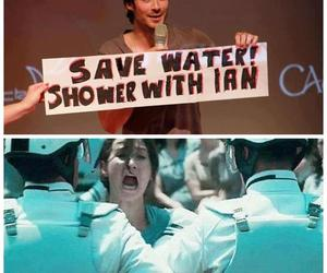 ian somerhalder, shower, and ian image
