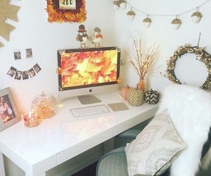 autumn, fall, and room image