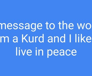 message, peace, and please image