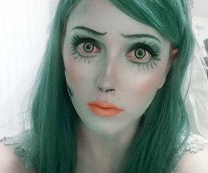 Halloween, halloween make up, and halloween make up ideas image