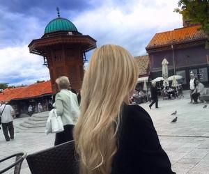 back, black, and blond image