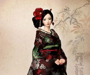 japan, bjd, and doll image