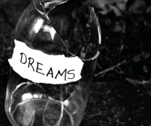 Dream, broken, and black and white image