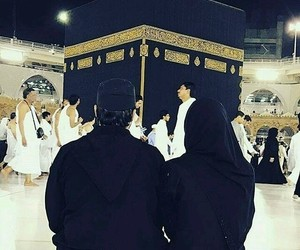 muslim, couple, and makkah image