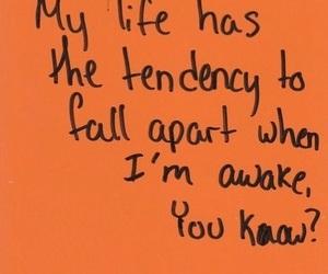 quotes, sleep, and life image