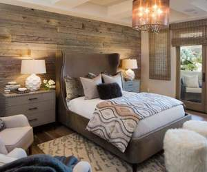 bedroom, classic, and cozy image