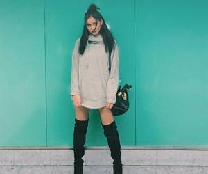 brunette, fashion, and cindy kimberly image