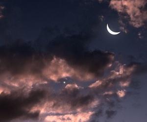 sky, moon, and theme image