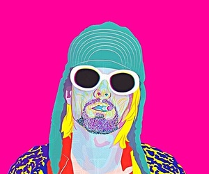 kurt cobain, grunge, and nirvana image