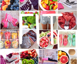 fit, fitness, and fruit image