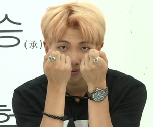 bts, gif, and rap monster image