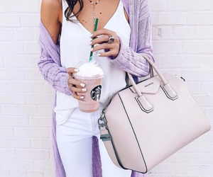 fashion, style, and starbucks image