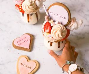 Cookies, dessert, and heart image