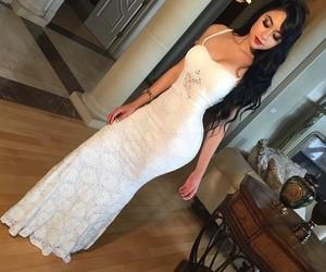 bridesmaid, fashion, and glam image