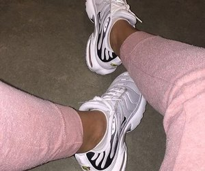 girls, nike, and shoes image