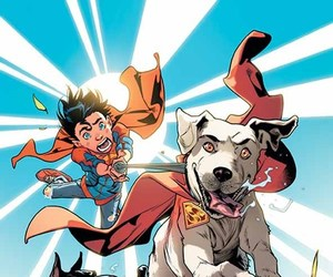 robin, titus, and superboy image