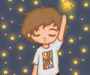 fanart, stars, and one direction image