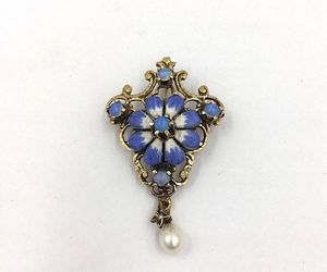 Art Nouveau, brooch, and ebay image