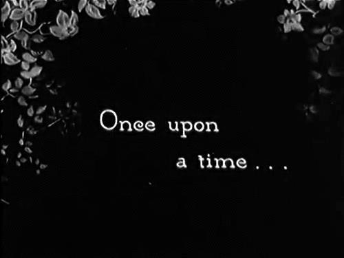 once upon a time, black and white, and quotes image