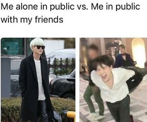 bts, funny, and memes image