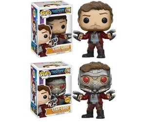 funko pop, guardians of the galaxy, and star-lord image