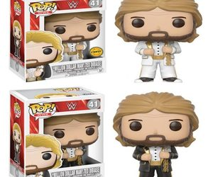ted dibiase, million dollar man, and funko pop image
