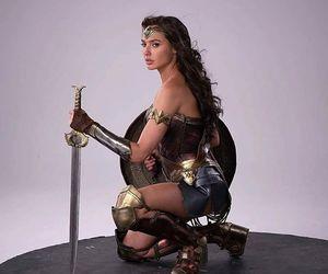 wonder woman, gal gadot, and dc comics image