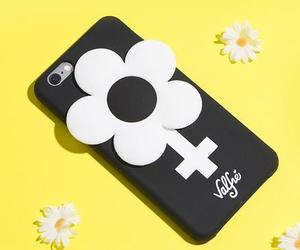 girl power, iphone, and phone case image