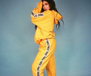 kylie jenner, yellow, and kylie image
