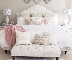 bedroom, style, and dog image