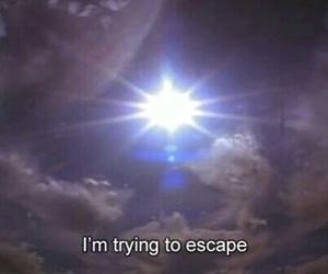 escape, quotes, and pale image