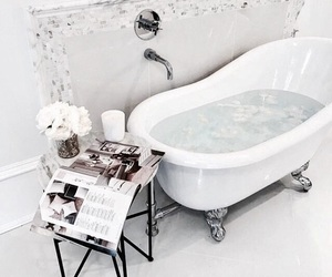 bath, interior, and bathroom image