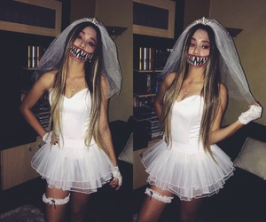 Halloween, costume, and white image