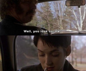 girl interrupted, sad, and quotes image