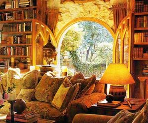 harry potter, interior, and room image
