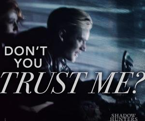 shadowhunters, clace, and jace herondale image
