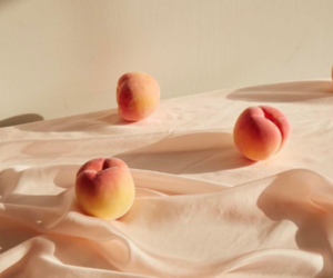 peach, peachy, and peaches image