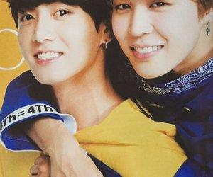 jungkook, bts, and jimin image