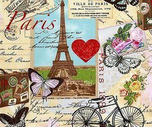 paris, vintage, and cute image