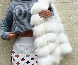 bianco, eco, and faux fur image