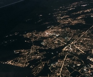 avion, city, and fly image