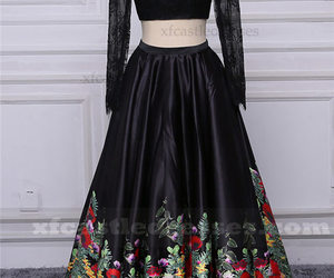 ball gown prom dresses, long sleeve prom dresses, and prom dresses with sleeves image
