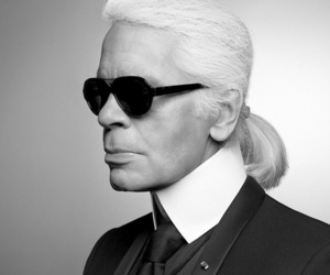 icon, karl, and lagerfeld image